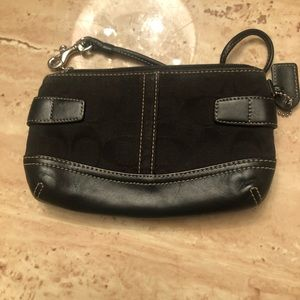 2 small coach wrist style bags